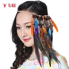 hippie hair accessories 2016 new bohemian fringed national wind hippie hair accessories