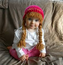 Cabbage Patch Kid Halloween Costume Aliexpress Buy Crochet Baby Hat Cabbage Patch Wig
