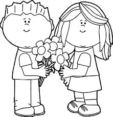 sledding coloring pages valentine for kids coloring page wecoloringpage