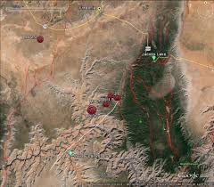 The Wave Arizona Map by Arizona Seismic Update U2013 January July 2013 Arizona Geology