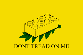 Don T Tread On Me Flag Origin Found This On R Lego Today Vexillology