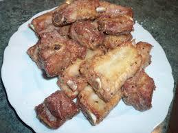 cuisiner travers de porc le canard du mékong travers de porc au poivre et sel