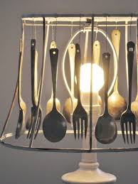 Kitchen Utensils Design by Amazing Cutlery Lampshade By Four Corners Design Decor Lighting