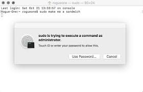 how to use sudo with touch id on your mac imore