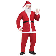 santa claus suit 2017 new arrival plus size costume santa claus suit christmas