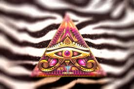 third eye of horus stretched canvas print the of hakan hisim