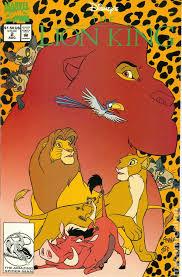 disney u0027s lion king 1994 comic books