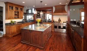mullet cabinet u2014 knotty cherry lake house kitchen