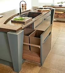 under sink trash pull out sliding under cabinet trash can sliding trash can under sink kitchen