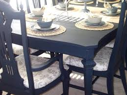 Painted Dining Table Ideas Painted Dining Table Before And After Painting Room Black Ideas Is