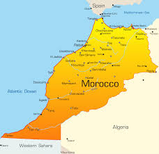 Blank Map Of Mediterranean by Morocco Map With Cities Blank Outline Map Of Morocco