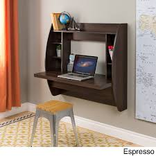 floating desk with storage free today com 14790332