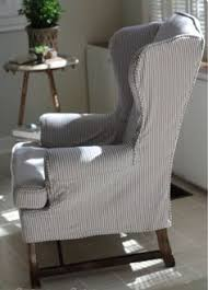 Blue And White Striped Slipcovers Blue And White Striped Slipcover Sofa Coastal Stylish Things