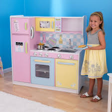 cuisine bois kidkraft kidkraft grande cuisine enfant pastel bois roseoubleu fr