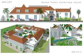florida house plans with courtyard pool house plans with courtyards house with courtyard plan florida house