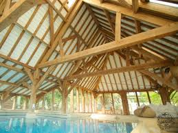 oak frame swimming pool enclosures oak pool building