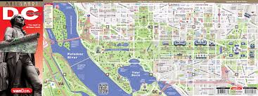 Washington Dc Map Of Attractions by Filewashington Dc Printable Tourist Attractions Map Jpg For Map Of