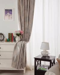 elegant luxury blackout curtains for living room pink blinds