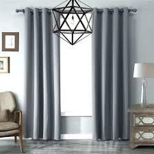 gray panel curtains grommet neutral grey designer blackout curtain
