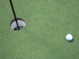 why is the size of the golf hole 4 25 inches