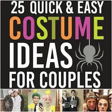 Easy Couple Halloween Costumes Most Creative Couple Halloween Costumes 25 Quick Costume Ideas