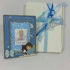 cornice battesimo bimbo bomboniere cornice battesimo portafoto con angelo con orsetto