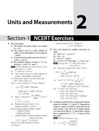 ncert exercises exemplar solutions physics class 11 9789385244681