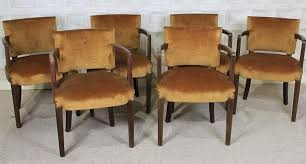 Restaurant Dining Chairs Vintage 1930s Dining Chairs Original Upholstered Dining Chairs