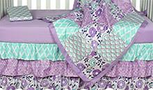 Purple And Teal Crib Bedding Baby Bedding Crib Bedding Sets For