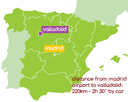 Valladolid Spain Map by Wine Experience In Valladolid