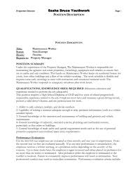 resume description examples onet resume samples sample of accounting resume accounting resume maintenance resume samples maintenance janitorial resume examples