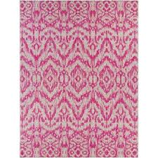 Pink Outdoor Rug Rectangle Pink Outdoor Rugs Rugs The Home Depot