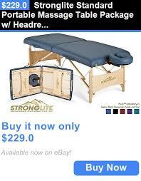 stronglite standard plus massage table pinterest the world s catalog of ideas