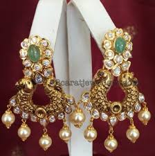 pachi work earrings 117 grams pachi necklace earrings ear rings indian jewelry and