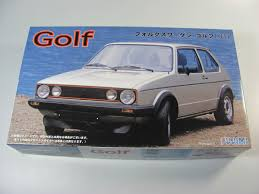 volkswagen car models vw golf 1 fujimi car model kit com