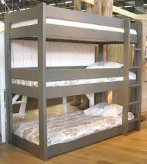Plans For Triple Bunk Beds by Pandora 3 Tier Triple Sleeper Pine Bunk Bed New House