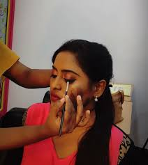 bridal makeup classes bridal makeup classes in chrompet bloom hair beauty academy in