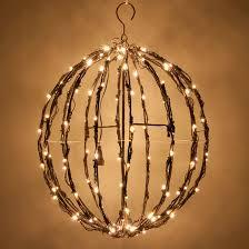 warm white led christmas lights white led christmas light ball fold flat brown frame