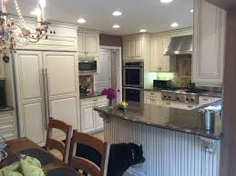 perfect custom white wood kitchen complete cabinets sub zero