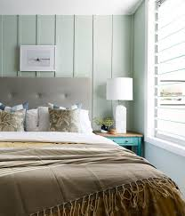 awesome light green walls bedroom beach style with beach chic