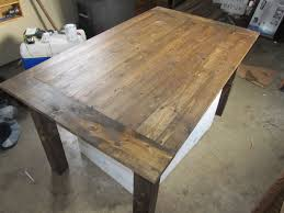 Black Farmhouse Table Hand Made Farmhouse Table By Black Beard Woodworking Custommade Com