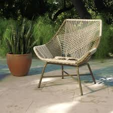 Resin Stacking Chairs Outdoor Gray Andalusia Woven Chair Lounge Chairs Construction And Iron