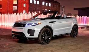 range rover land rover 2016 2016 range rover evoque convertible world premiere