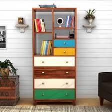 Bookshelf Online Buy Missii Bookshelf Online In Mahogany Finish Making A Vibrant