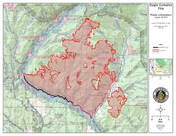 a map of oregon fires springs aug 25 eagle complex stays active grows