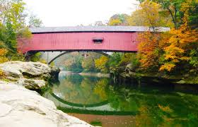 Indiana scenery images Scenic drive covered bridge tour in indiana midwest living jpg