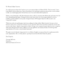letter of recommendation job sample cover letter templates