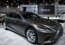 lexus la fc 2018 lexus ls 500h made its north american debut drivers magazine