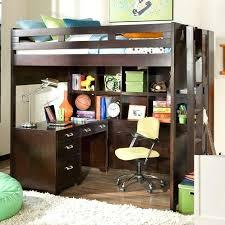 Top Bunk Bed With Desk Underneath Loft Bed With Desk Underneath Loft Bed Rattan