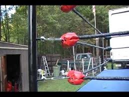 backyard wrestling ring for sale cheap part2 how a wrestling ring is made youtube